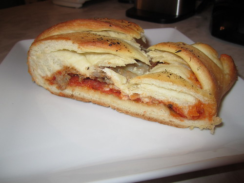 Finished Calzone