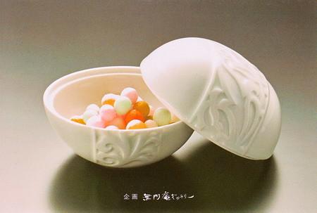 ■副島泰嗣・微美子 白磁展■2012年 無門庵