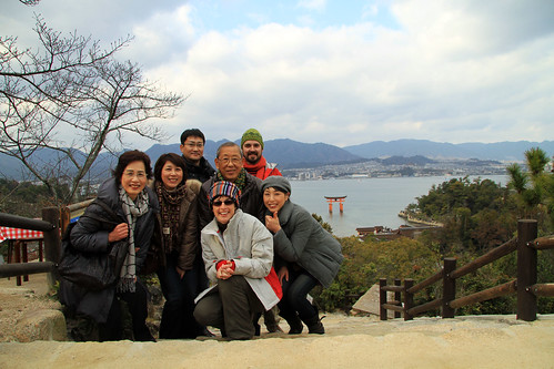 New friends in Miyajima
