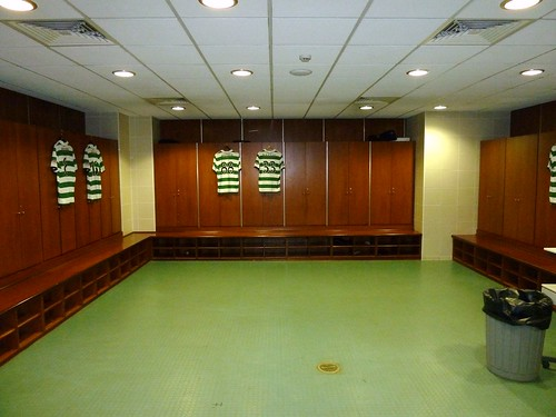 Players Changing Room, Celtic Park