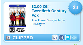 The Usual Suspects On Blu-ray Coupon