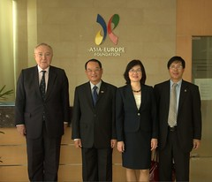 ASEF ASEM Group photo