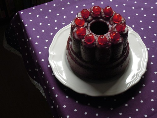 Royal Burgundy Cake