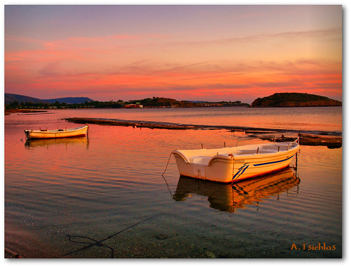 Purple boats  (Hdr) by ATSICHLAS (Busy)