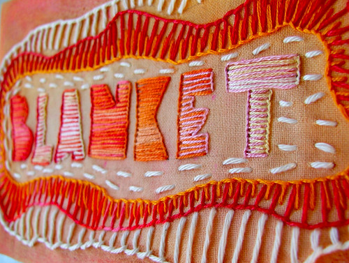 blanket (aka buttonhole) stitch—TAST week 2