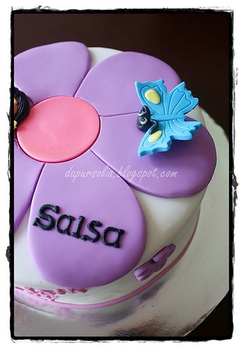 Flower Cake for Salsa