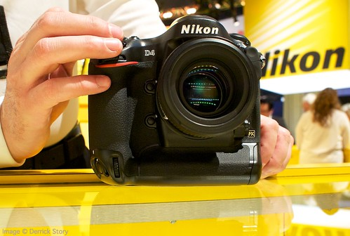Nikon D4 at CES
