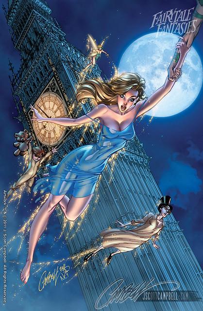 J. Scott Campbell Fairy Fantasies 2012 Calendar