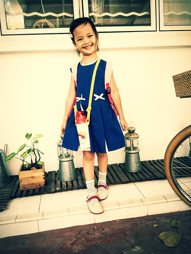 aina's first day of school