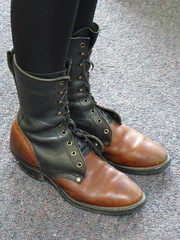 outdoor shoe, brown, footwear, shoe, leather, work boots, limb, tan, leg, riding boot, boot,