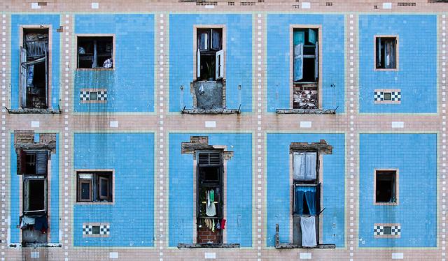 Façade du Malecõn, Cuba