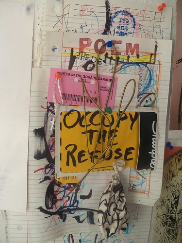 occupy the refuse by jim leftwich