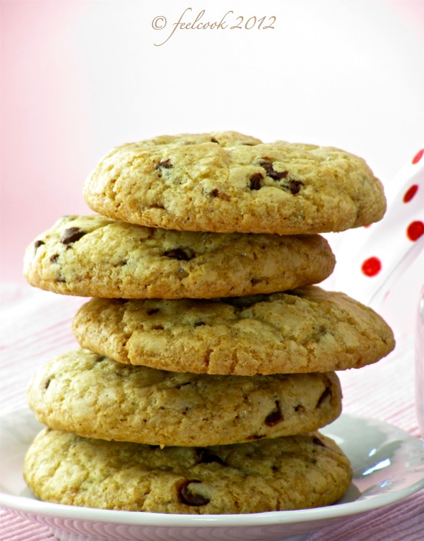 Biscotti vecchia America (chocolate chip cookies)