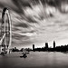 London Eye and Parliament by kayodeok