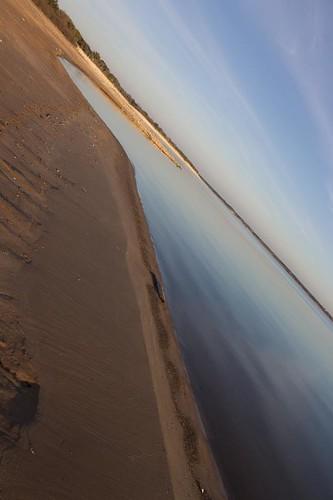 Beach Shoreline Tilt