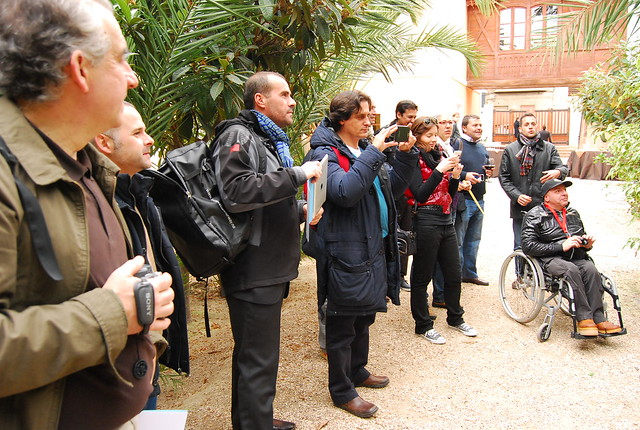 Participantes del #visitElche blogtrip