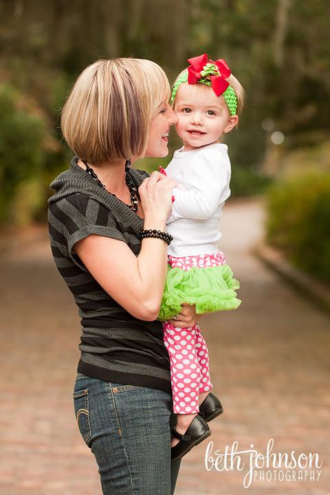 mama and baby girl photographer maclay gardens florida