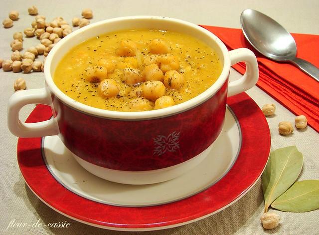 суп из нута с овощами 1