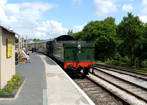 Arrival, Totnes Station