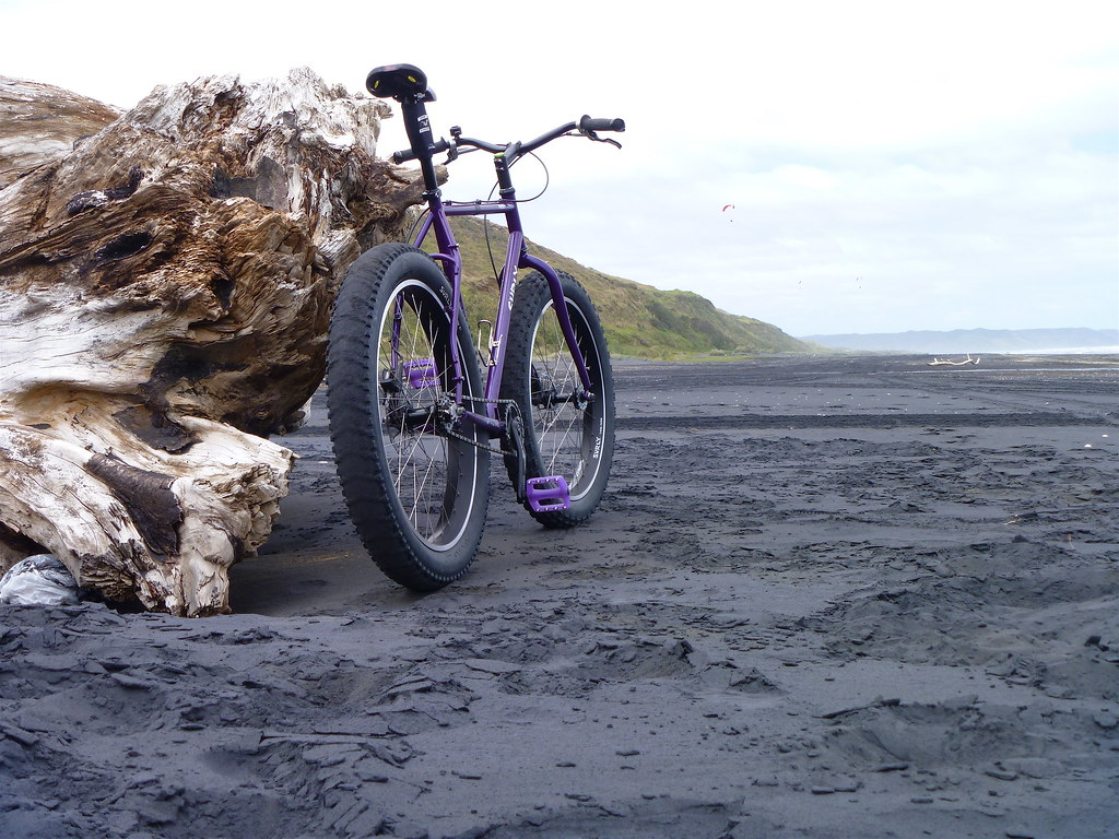 Black Sand Biking