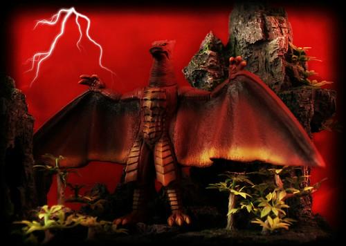 Bandai Godzilla Vinyl - Rodan