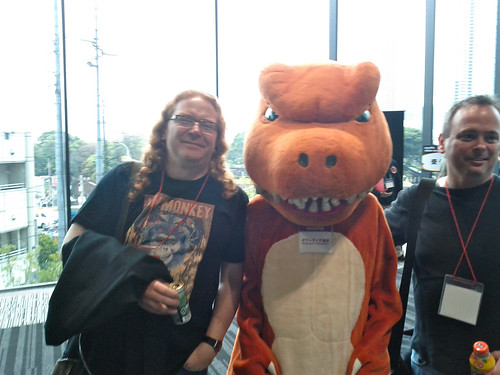 Chris Heilmann, Mozilla Godzilla and Mark Finkle