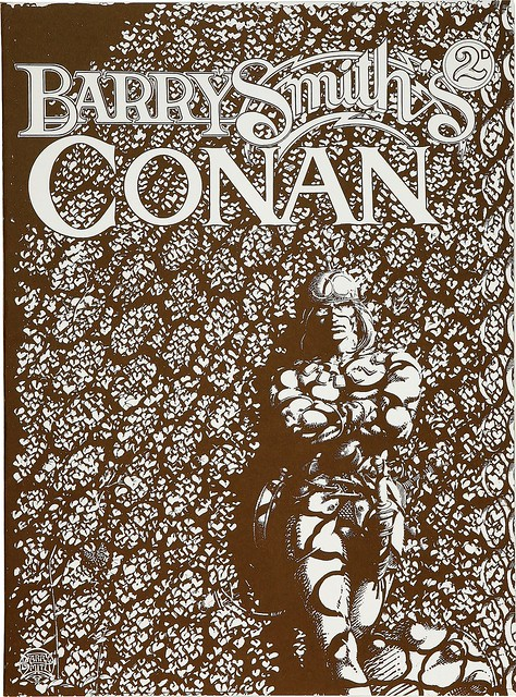 Barry Smith's Tupenny Conan Portfolio 1 1974