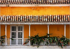 Balcony from Cartagena de Indias by Zé Eduardo...