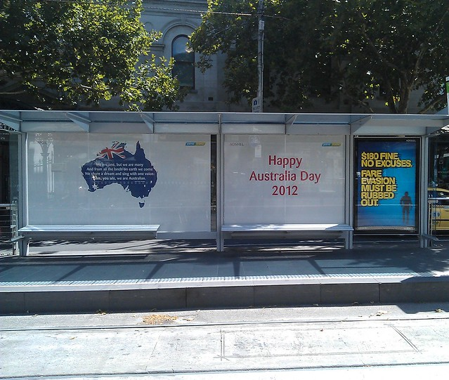 Yarra Trams: Australia Day 2012