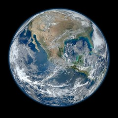 Most Amazing High Definition Image of Earth - Blue Marble 2012 by NASA Goddard Photo and Video