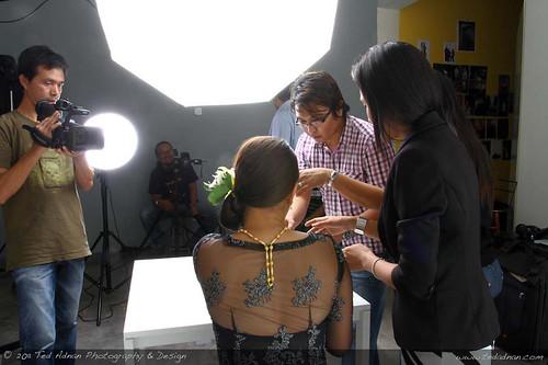 Ted Adnan shoots Emas Sri Pinang Campaign at The Barebone Studio Saujana Impian Kajang