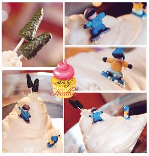 Snowboarding Cake by Cake Maniac