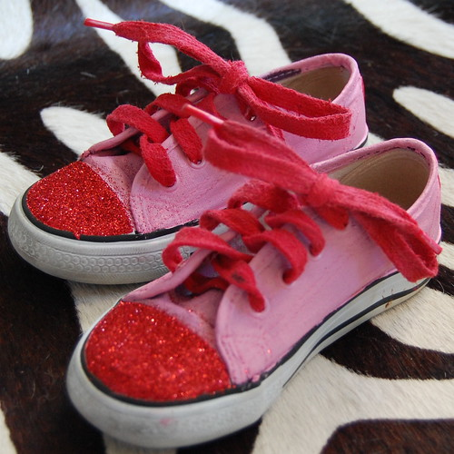 I Love to Create - Ahh Shucks you Painted Me Chucks for Valentines Day 5ee3f446f
