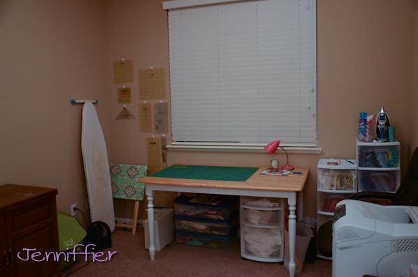 Sewing room cleaned up