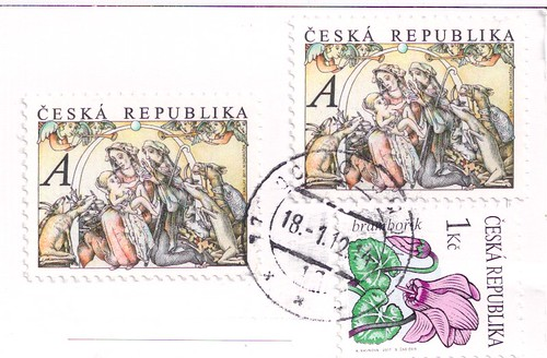 Czech Republic Christmas Stamps