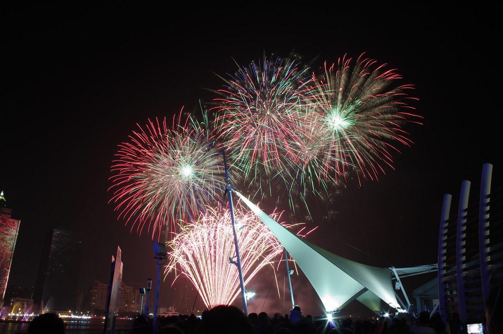 2012高雄元宵煙火--光榮碼頭