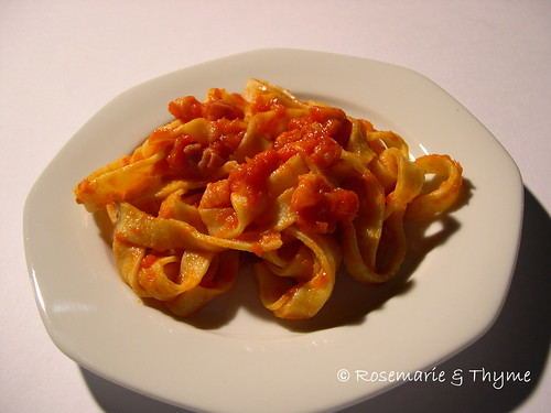 DSCN9170 - tagliatelle all'amatriciana