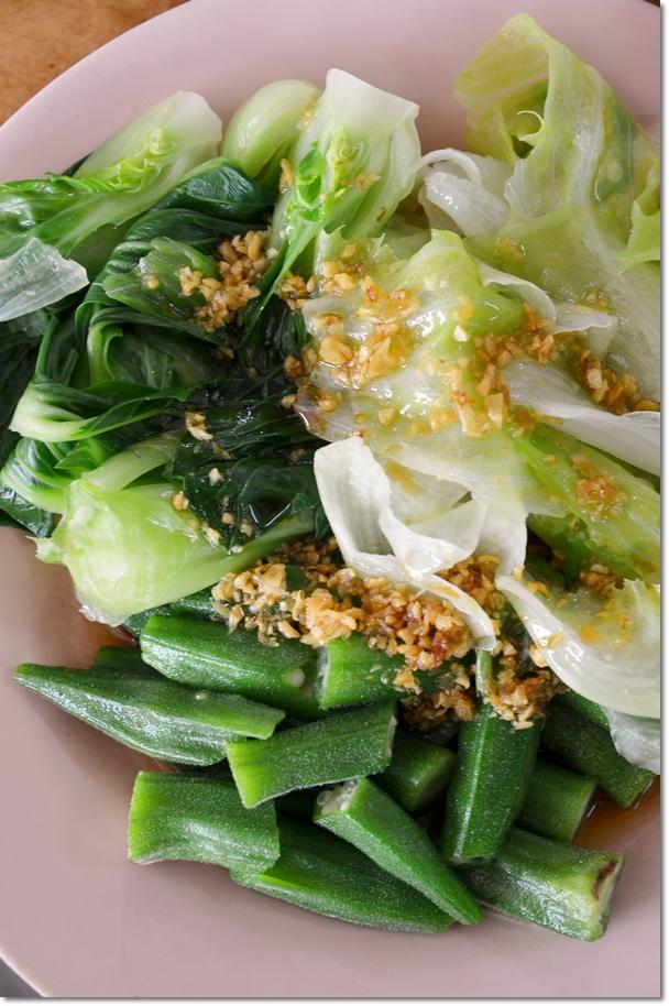 Three Varieties of Vegetables