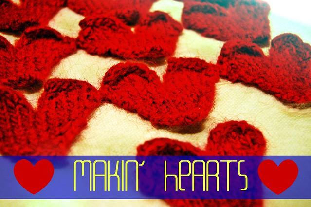 hearts vintage