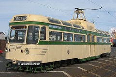 Tram 304 ( 660 ).Tram Sunday FLEETWOOD