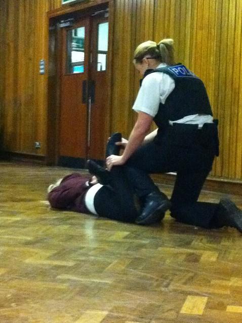Police woman fucks arrest my ass now 1