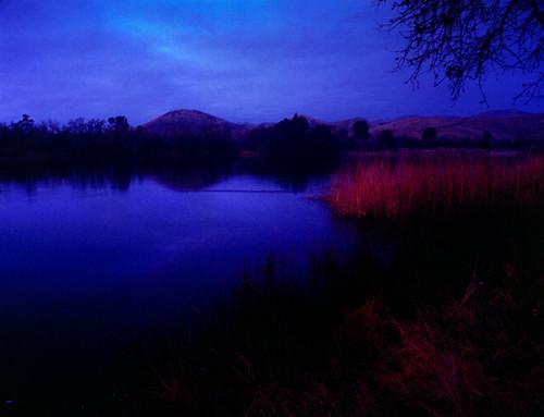 sunset lake film water analog mediumformat landscape 645 canoscan 220 bronicaetrsi kodakportra400 unicolorc41