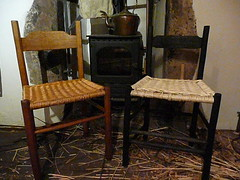Original David Drew and Pickled Oak chairs