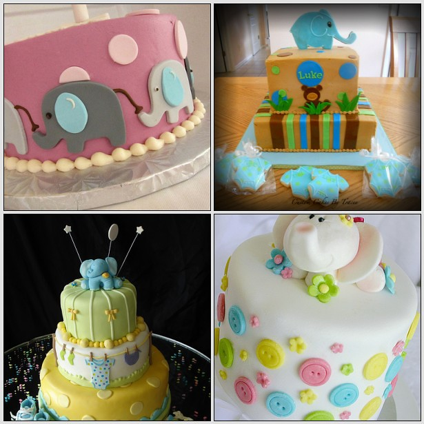 elephant baby shower cakes flickr photo sharing
