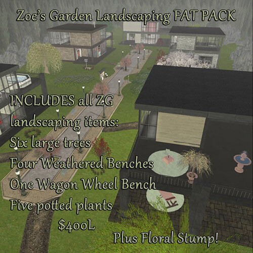 Linden Home Landscaping FAT PACK