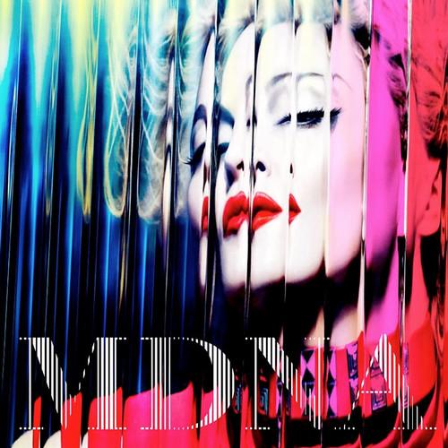 Madonna MDNA Album Cover