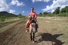 Horse-riding trip