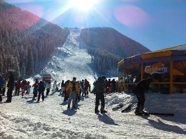 Bansko red run