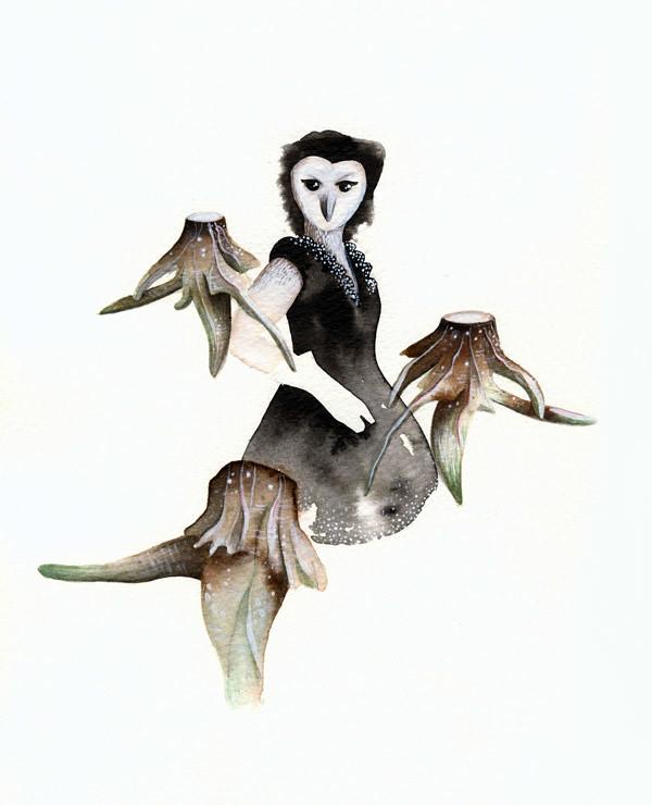 Humanimal - Owl Lady v.02 :: Dame hibou