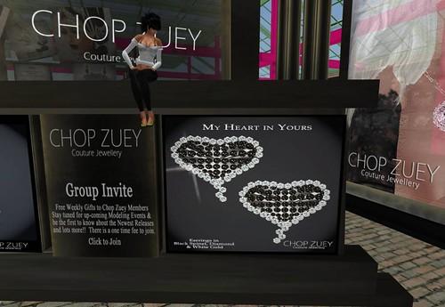 Chop Zuey Gift  - My Heart Earrings by Cherokeeh Asteria
